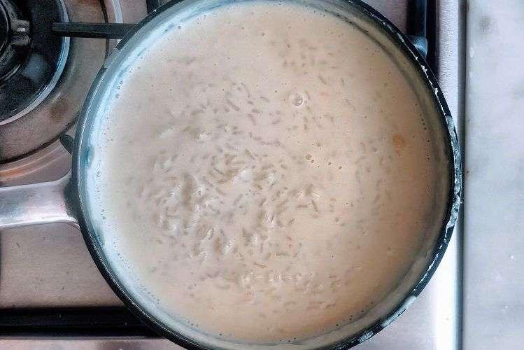 Cozinhe até formar um creme espesso