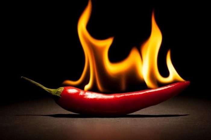 pimenta mais ardida/quente do mundo