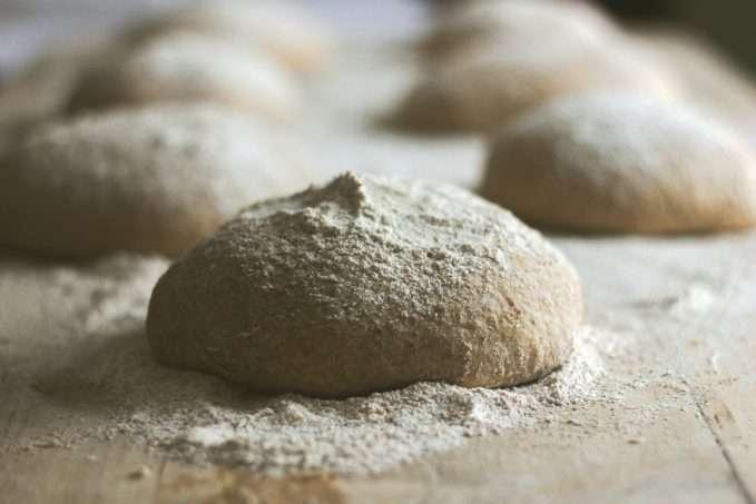 ingredientes do pão