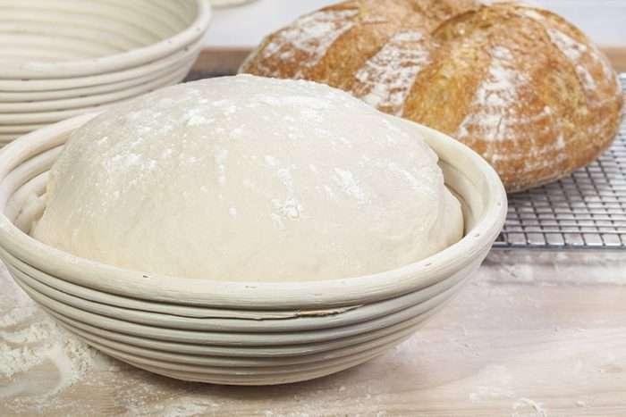 banneton   fermentação de pães