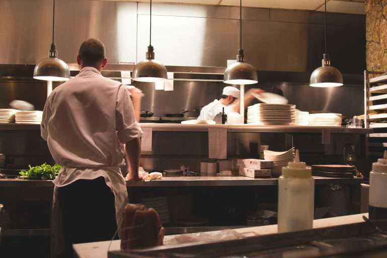 regras da cozinha profissional
