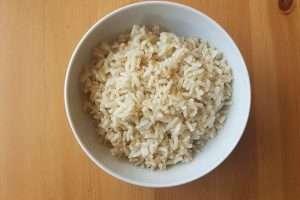arroz integral simples