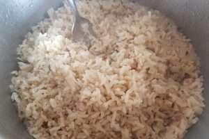 arroz integral pilaf