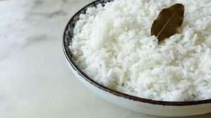 receita de arroz branco simples e soltinho