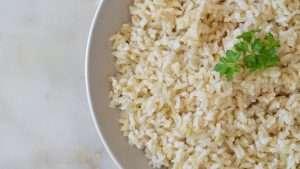 receita de arroz integral soltinho