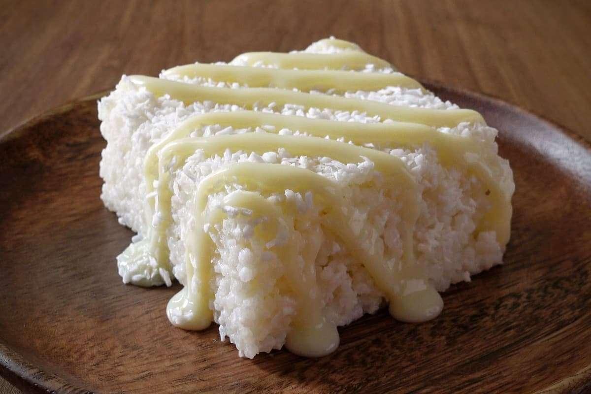 cuscuz de tapioca ou bolo podre