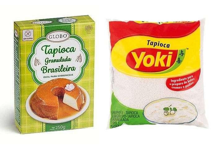 tapioca granulada