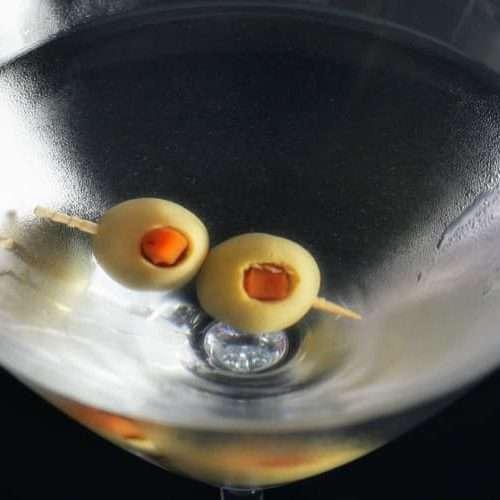 receita de dry martini