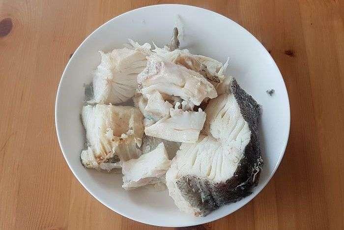 bacalhau cozido