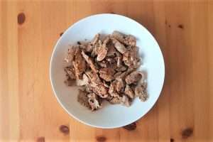 estrogonofe tiras de carne grelhada