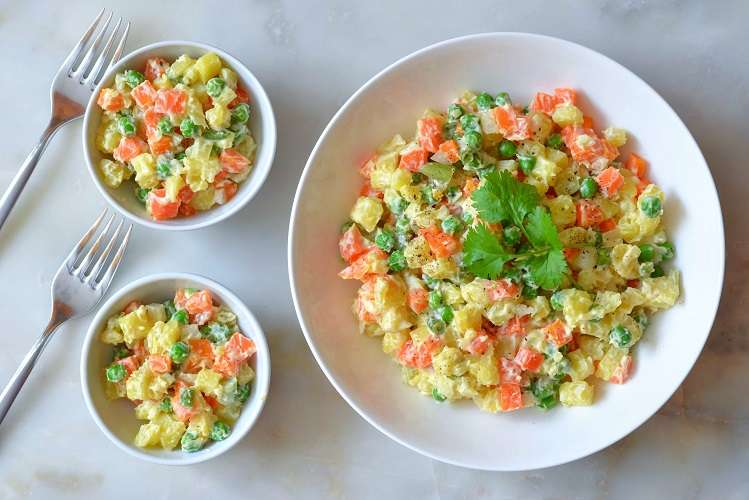 salada russa - salada de maionese
