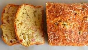 receita de torta de liquidificador com presunto e queijo