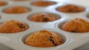 muffin com gota de chocolate gd
