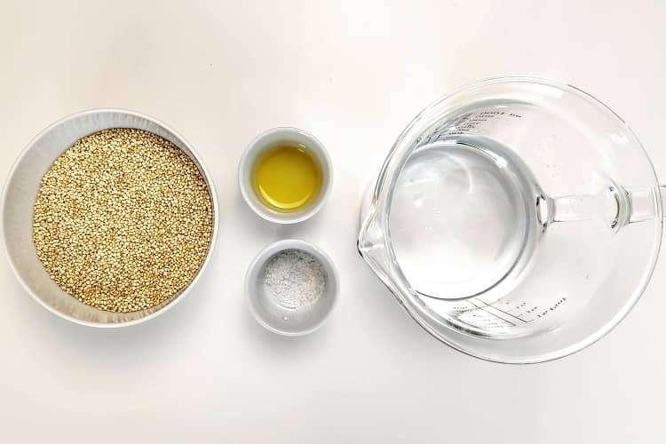 cozinhar quinoa