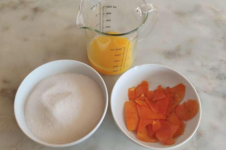 Calda de laranja