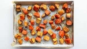 receita de batata-doce assada
