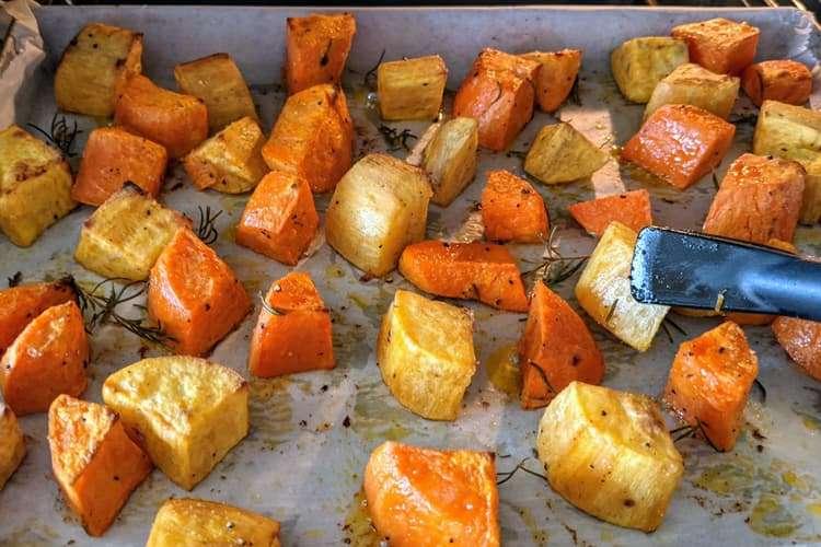 vire as batatas a cada 15 minutos