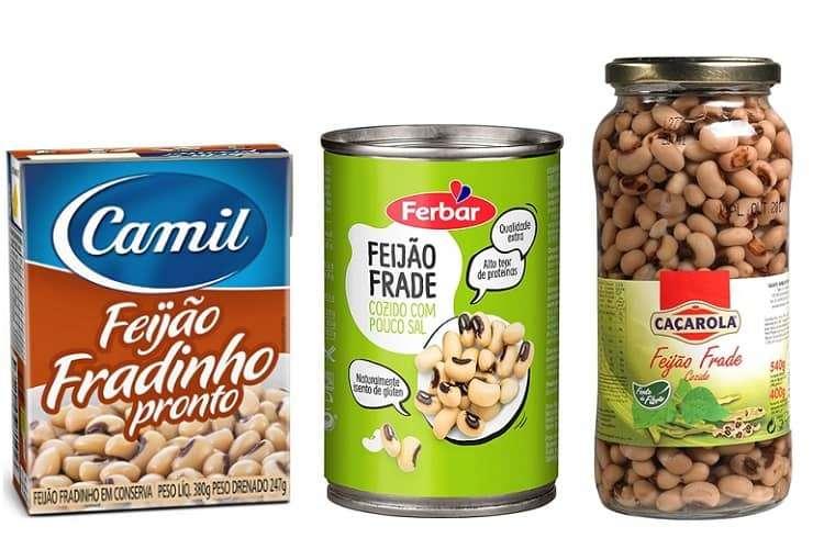 feijão fradinho/frade cozido