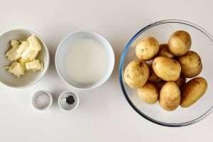 purê de batatas
