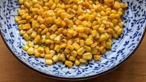 receita de milho refogado