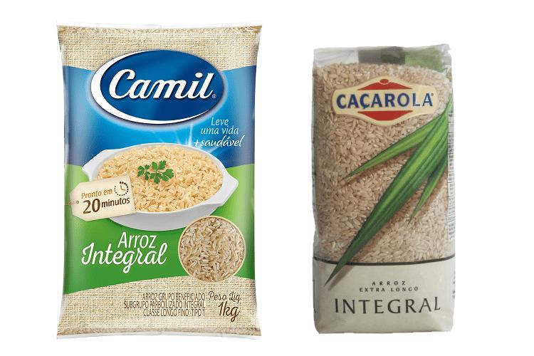 arroz agulhinha integral