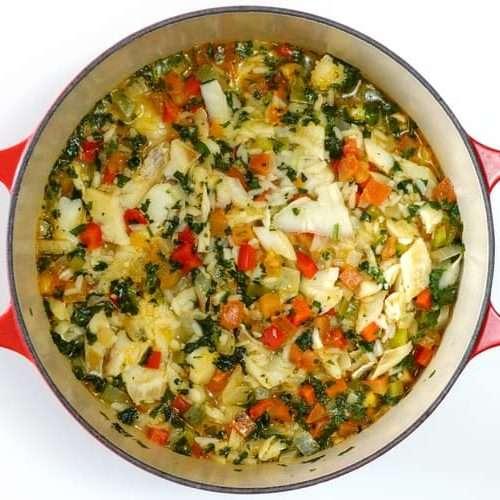receita de arroz de bacalhau