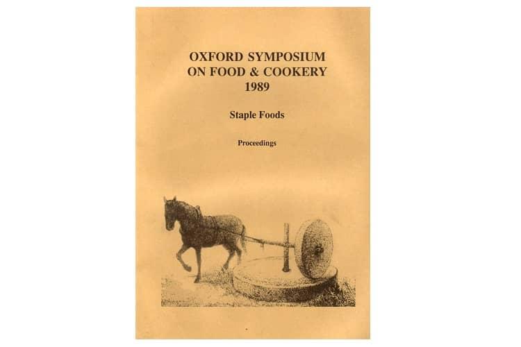 oxford symposium on food cookery